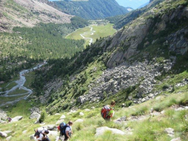 Trekking dai Piani di Preda Rossa al Rifugio Cesare Ponti (foto CAI SONDRIO)