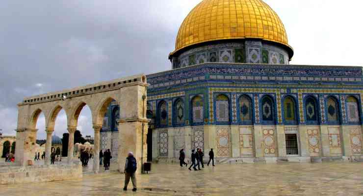 itinerario israele palestina