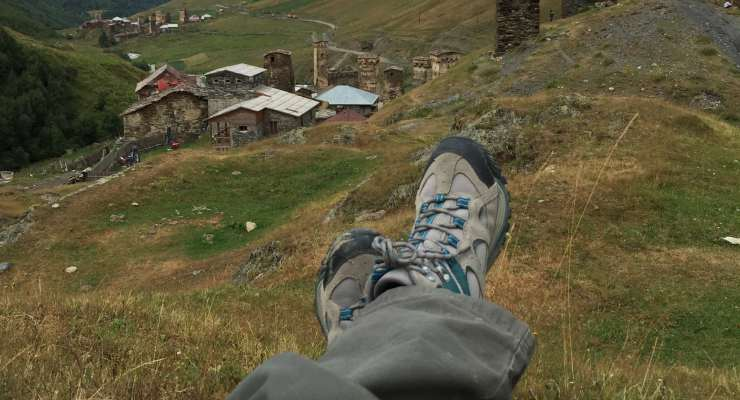 scarpe trekking montagna