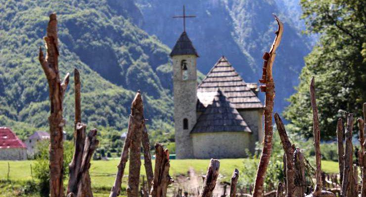 chiesa di theth - parco naturale albania