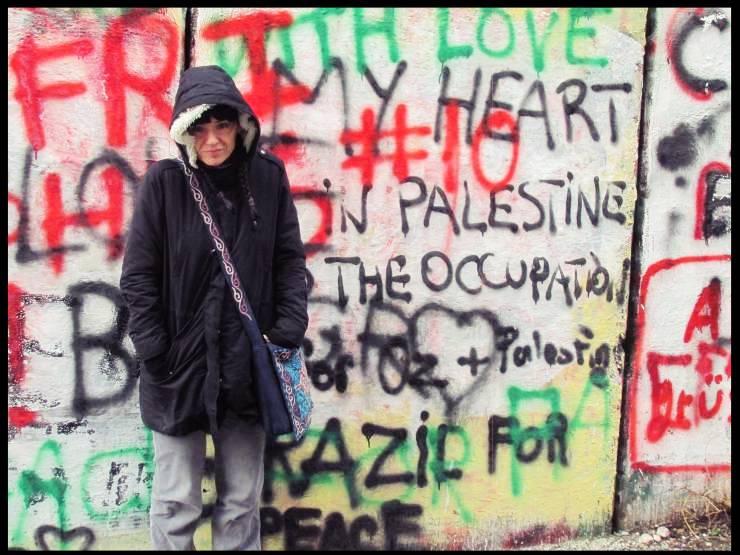 muro di Betlemme che divide Israele dalla Palestina