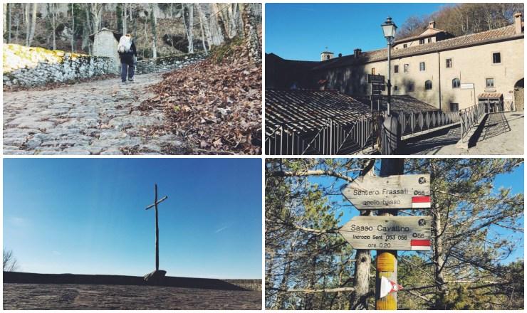 cammino di san francesco santuario di la vera