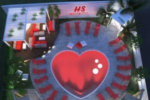 Dove trovare una piscina a forma di cuore in Romagna?