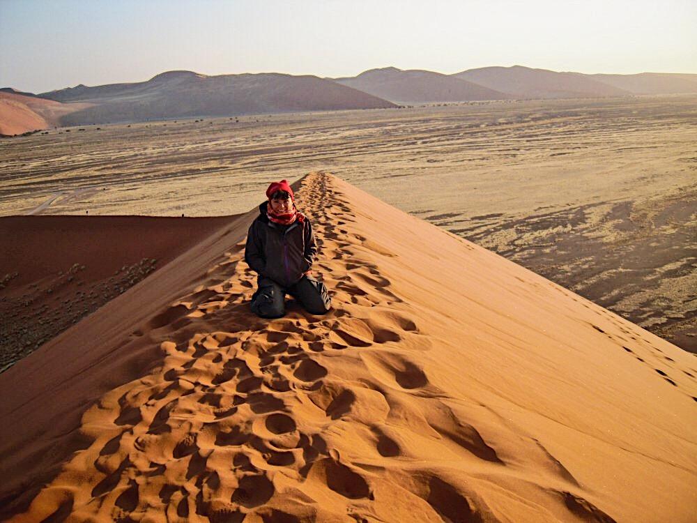 Sossusvlei Namibia Desert fringe in travel