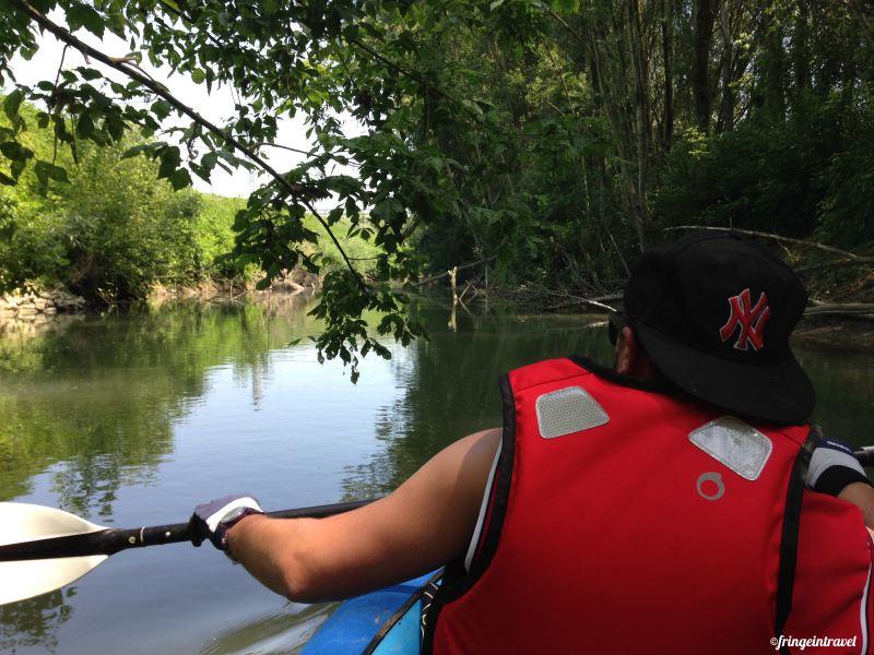 traversata del lamone in kayak