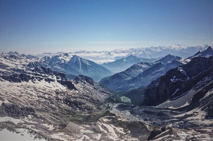 trekking monterosa champoluc guide ayas