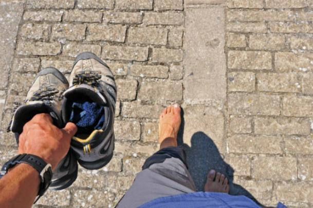 cammino di santiago_foot