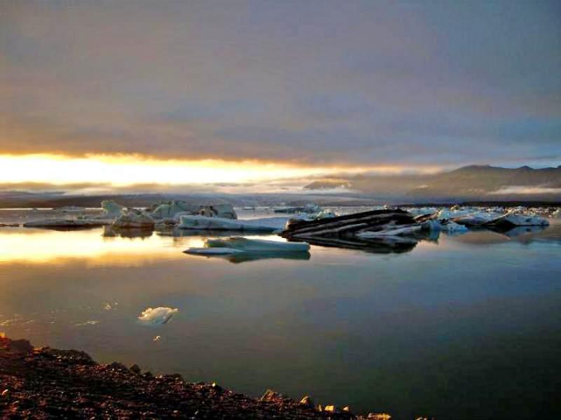 Islanda paesaggio ghiacci