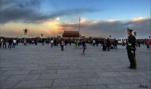 Prendere un taxi in Cina, destinazione Piazza Tienanmen