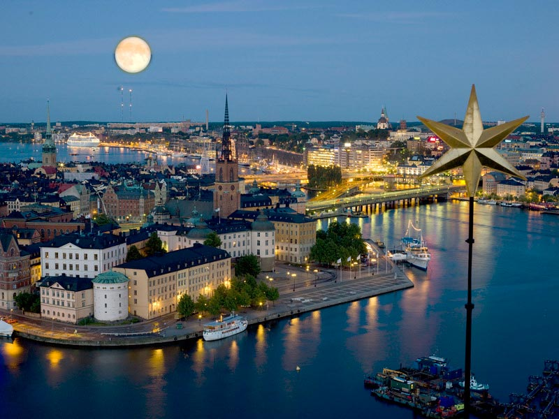 Stockholm by night_imbrunire a Stoccolma