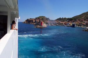 Isola del Giglio: quanto può essere romantico un traghetto?
