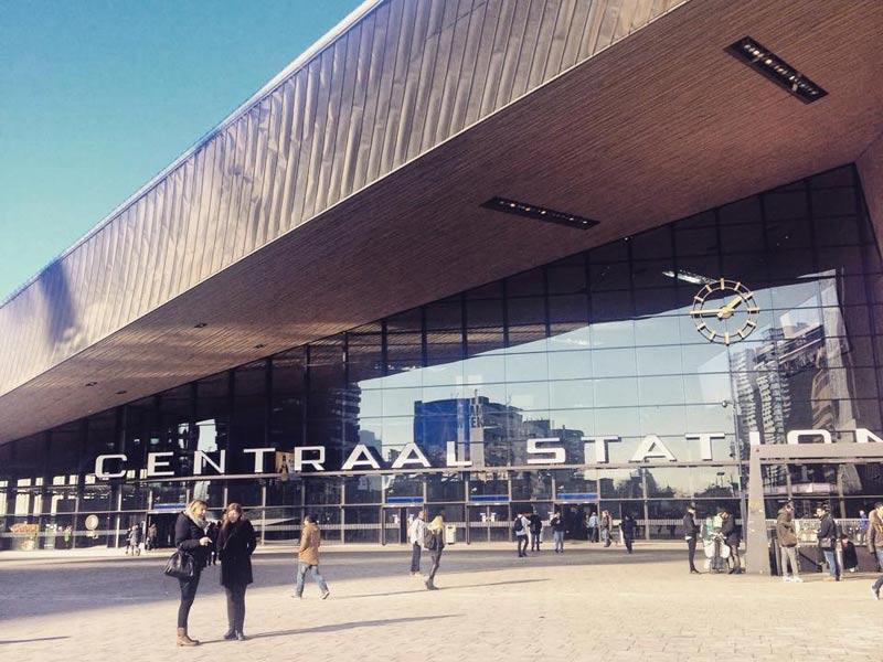 La stazione di Rotterdam - Centraal Station