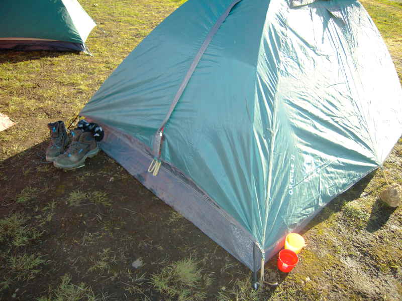 Landmannalaugar camping