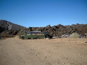campeggio in islanda