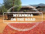 myanmar/birmania on the road