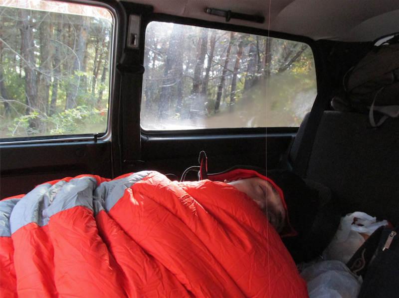 Campeggio libero in Armenia 04