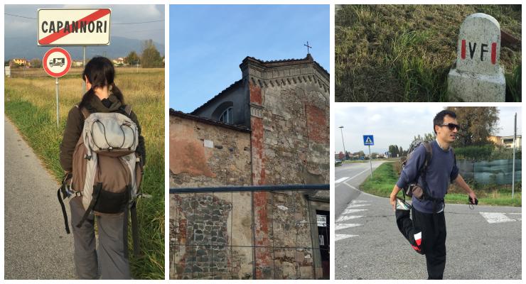 via francigena - tappa da Lucca