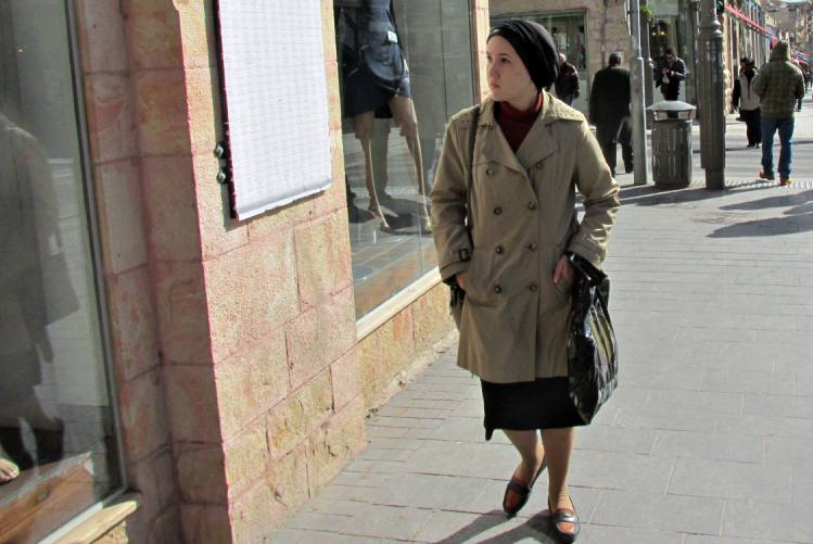 terra santa donna ebrea