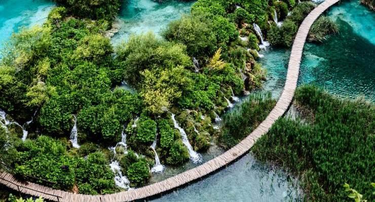 Laghi Plitvice - Croazia (foto pixabay)