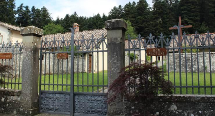 Vista delle celle monastiche