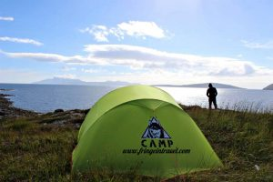 campeggio libero in scozia