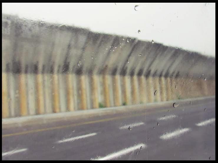 Muro che divide Israele da Palestina: lungo la strada per Betlemme da Gerusalemme