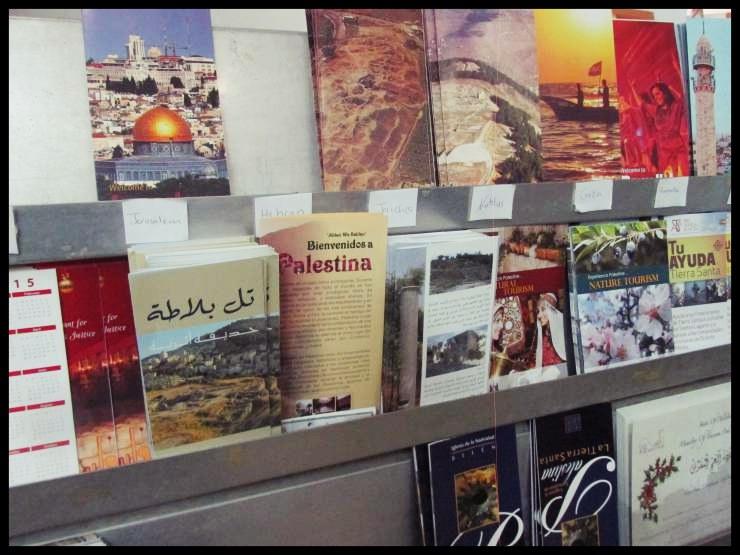 Betlemme materiale informativo ufficio turistico