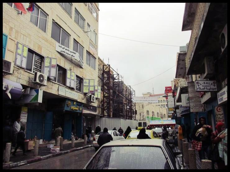 Betlemme strada della città