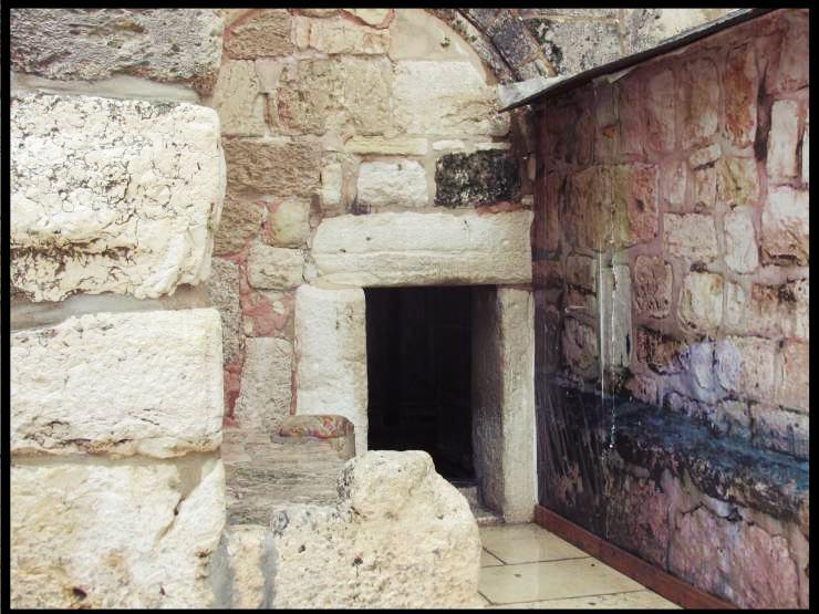 Porta umiltà della Basilica della Natività di Betlemme