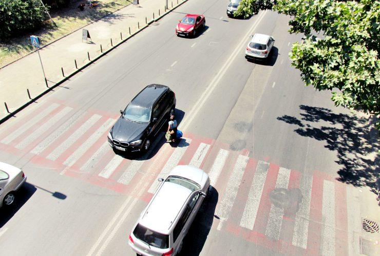guidare in georgia auto pedoni