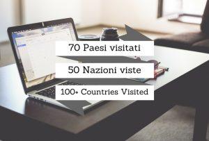 Lettera aperta a chi conta i Paesi Visitati…
