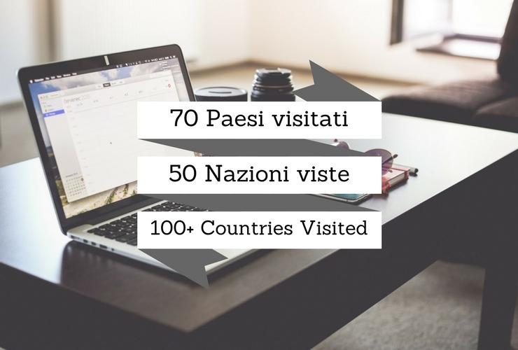 computer, 70 paesi visitati,