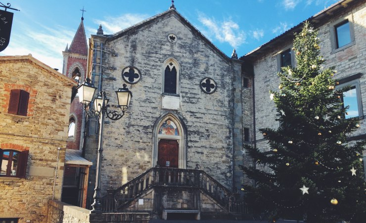 cammino di san Francesco pietralunga