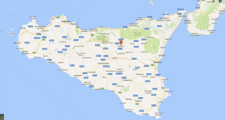 Nicosia mappa