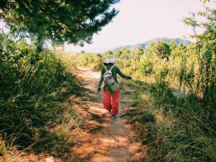 trekking in Birmania Myanmar