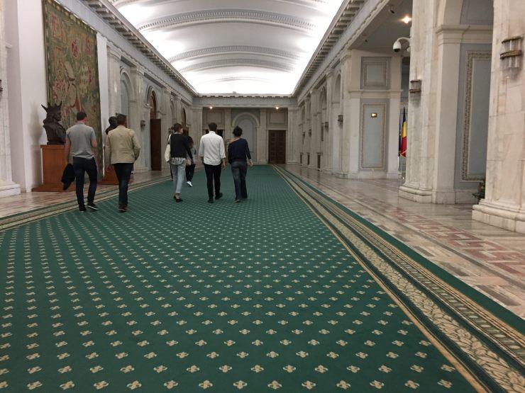 palazzo parlamento bucarest ex casa popolo interno