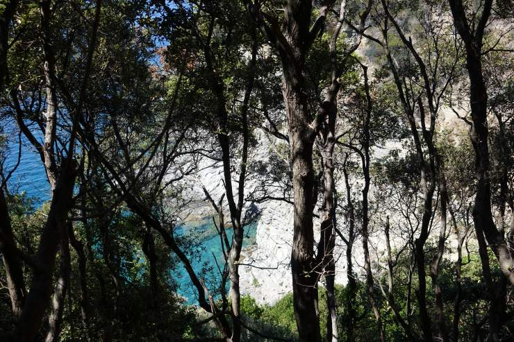 trekking toscana piombino promontorio