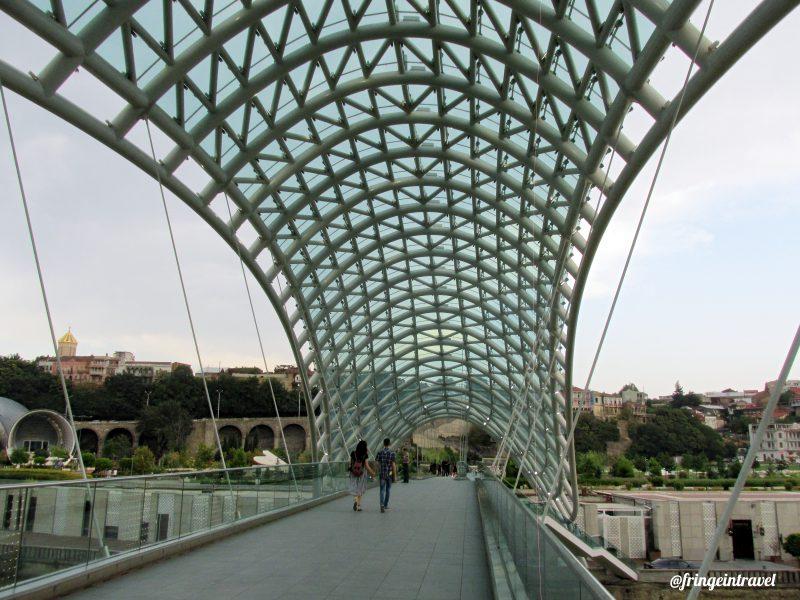 ponte della pace ci Tbilisi