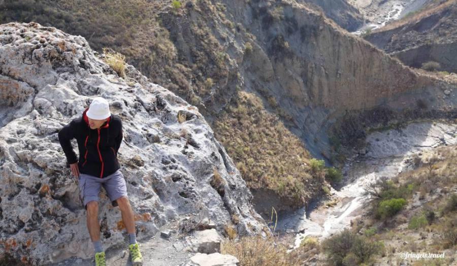 Cordillera de los Frailes paesaggio