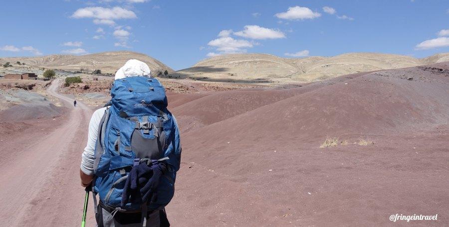 cordilera de los frailes trekking 7