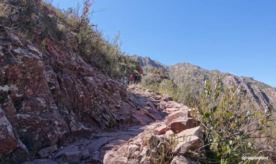 Cordillera de los Frailes strada inca