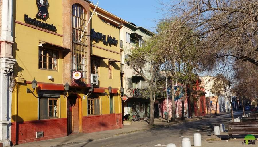 santiago del cile barrio brasil