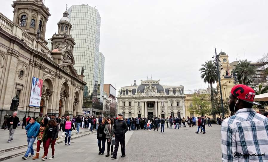 Plaza de Arma - Santiago del Cile