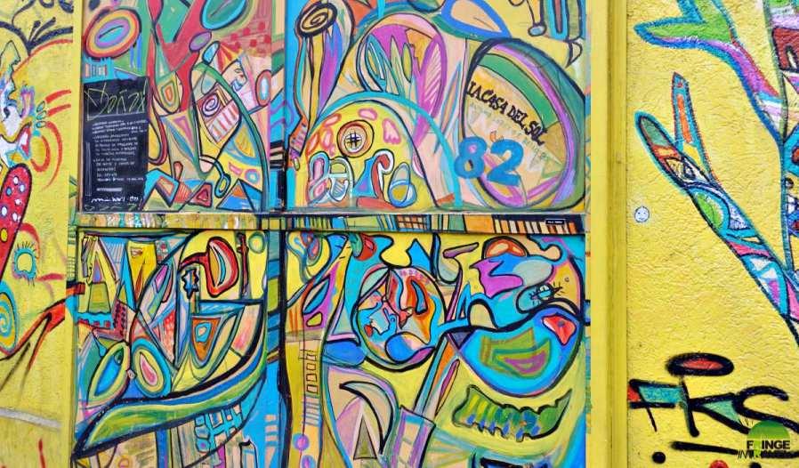 graffiti santiago del clle