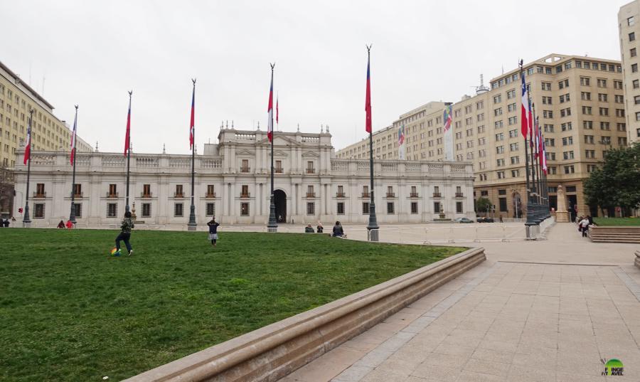 Palazzo La Moneda Santiago Del Cile