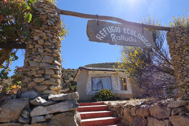 isla del sol titicaca bolivia3 Refugio Kollechi