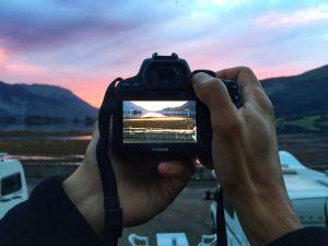 fringeintravel tramonto scozia