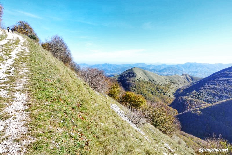 trekking monte cucco