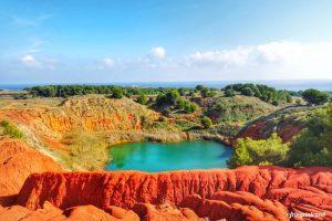 Trekking Puglia: dalla cava di bauxite di Otranto fino a Punta Palascia