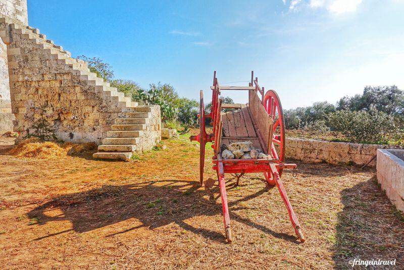 masseria trekking Puglia